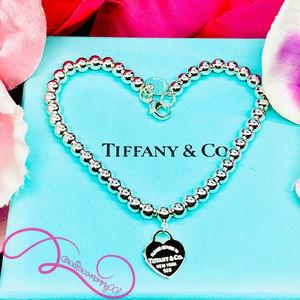 "NWOT T&Co. Return to Tiffany Bead Bracelet, 7"""